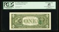 Error Notes:Third Printing on Reverse, Fr. 1913-G $1 1985 Federal Reserve Note. PCGS Apparent Extremely Fine 45.. ...
