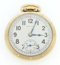 Timepieces:Pocket (post 1900), Hamilton 23 Jewel Series 950 B Open Face Pocket Watch. ...