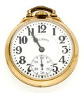 Timepieces:Pocket (post 1900), Illinois 21 Jewel 60 Hour Bunn Special Series 161 A Pocket Watch....