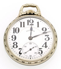 Illinois 23 Jewel Sangamo Special Open Face Pocket Watch