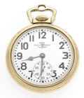 Timepieces:Pocket (post 1900), Ball 21 Jewel Jewel Series 999 B Open Face Pocket Watch. ...