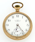 Timepieces:Pocket (post 1900), Ball 17 Jewel Series 333 - 18 Size Pocket Watch. ...