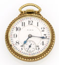 Timepieces:Pocket (pre 1900) , Elgin 23 Jewel Veritas Open Face Pocket Watch. ...
