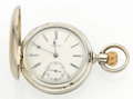 Timepieces:Pocket (post 1900), E. Howard & Co. 17 Jewel Coin Silver Pocket Watch. ...