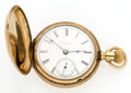 Timepieces:Pocket (post 1900), Rockford 17 Jewel Hunter's Case Pocket Watch. ...