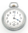 Timepieces:Pocket (post 1900), Illinois 21 Jewel Bunn Special 18 Size Pocket Watch. ...