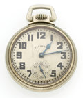 Timepieces:Pocket (post 1900), Illinois 21 Jewel A. Lincoln Open Face Pocket Watch. ...