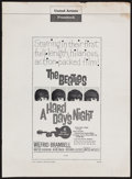 "Movie Posters:Rock and Roll, A Hard Day's Night (United Artists, 1964). Pressbook (MultiplePages, 13"" X 18""). Rock and Roll.. ..."