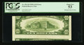 Error Notes:Skewed Reverse Printing, Fr. 2011-B $10 1950A Federal Reserve Note. PCGS About New 53.. ...