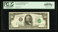 Error Notes:Shifted Third Printing, Fr. 2111-H $50 1950D Federal Reserve Note. PCGS About New 50PPQ.. ...