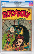 """Golden Age (1938-1955):Superhero, Roly Poly Comic Book #14 Davis Crippen (""""D"""" Copy) pedigree (Green Publishing Co., 1946) CGC FN+ 6.5 Cream to off-white pages...."""