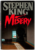 Books:Literature 1900-up, Stephen King. SIGNED. Misery. New York: Viking, 1987. Firstedition. Signed by the author on the half-title page. Octavo. 31...