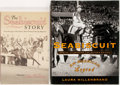 Books:Sporting Books, [Seabiscuit]. Group of Two Books on Seabiscuit. Includes LauraHillenbrand. Seabiscuit. New York: Random House, ... (Total:2 Items)