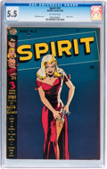 Golden Age (1938-1955):Superhero, The Spirit #22 (Quality, 1950) CGC FN- 5.5 Off-white pages....