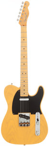 Musical Instruments:Electric Guitars, 1984 Fender '52 Re-Issue Telecaster Blonde Solid Body ElectricGuitar, Serial # 17432. ...