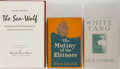 Books:Literature 1900-up, Jack London. Group of Three Books by London. Various publishers,1906-1979. White Fang is the second state with the titl...(Total: 3 Items)