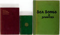 Books:Travels & Voyages, Group of Three Books Regarding Sea Ballads, Songs and Shanties. rubbing. Toned. Good.... (Total: 3 Items)
