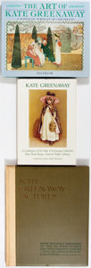 Books:Art & Architecture, Kate Greenaway. Three Books on the Art of Kate Greenaway. Various publishers, 1921-1991. Various editions. Publisher's bindi... (Total: 3 Items)