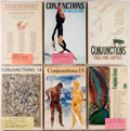 Books:Periodicals, Group of Six Issues of Conjunctions. Issues from 1981-1994.Many signed by contributors, including Harry Mathews... (Total: 6Items)
