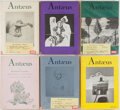 Books:Periodicals, Group of Six Issues of Antaeus Magazine. Issues from 1976-1984.Many SIGNED by contributors, including Tobias Wolfe, T.C... (Total:6 Items)