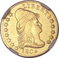 Early Quarter Eagles, 1802 $2 1/2 -- Whizzed -- NGC Details. AU. BD-1, R.4....