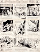 Hal Foster Prince Valiant Sunday Comic Strip #136 Original Art dated 9-17-39 (King Features Syndicate, 1939).... (Total:...