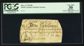 Colonial Notes:North Carolina, Serial Number 5 North Carolina March 9, 1754 40s PCGS Apparent VeryFine 30.. ...