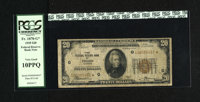 Fr. 1870-G* $20 1929 Federal Reserve Bank Note. PCGS Very Good 10PPQ. According to the census of FRBN Stars, this is one...