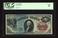 Fr. 18 $1 1869 Legal Tender PCGS Very Fine 25. The green, blue, and red inks are very colorful on this mid-grade Rainbow...