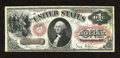 Fr. 27 $1 1878 Legal Tender Extremely Fine-About New. Light handling and excellent red ink claim this Ace