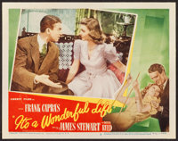 "It's a Wonderful Life (RKO, 1946). Lobby Card (11"" X 14""). Fantasy"