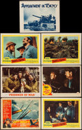 """Movie Posters:War, Paths of Glory and Others Lot (United Artists, 1958). Lobby Cards(7) (11"""" X 14"""") and Belgian Poster (14"""" X 21""""). War.. ... (Total: 8Items)"""