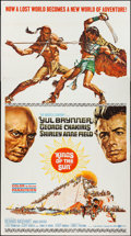 "Movie Posters:Adventure, Kings of the Sun (United Artists, 1963). Three Sheet (41"" X 80"").Adventure.. ..."