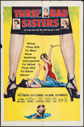 """Movie Posters:Bad Girl, Three Bad Sisters (United Artists, 1956). One Sheet (27"""" X 41"""").Bad Girl.. ..."""