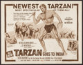 "Movie Posters:Adventure, Tarzan Goes to India & Others Lot (MGM, 1962). Half Sheets (3)(22"" X 28""). Adventure.. ... (Total: 3 Items)"