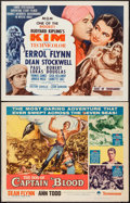 "Movie Posters:Adventure, Kim & Other Lot (MGM, R-1962). Half Sheets (2) (22"" X 28"").Adventure.. ... (Total: 2 Items)"