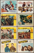 "Movie Posters:War, Stalag 17 & Others Lot (Paramount, 1953). Lobby Cards (9) &Title Lobby Card (11"" X 14""). War.. ... (Total: 11 Items)"