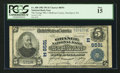 National Bank Notes:Pennsylvania, Smethport, PA - $5 1902 Plain Back Fr. 600 The Grange NB of McKean County Ch. # (E) 8591. ...