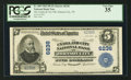 National Bank Notes:Tennessee, Johnson City, TN - $5 1902 Plain Back Fr. 609 The Unaka & City NB Ch. # 6236. ...