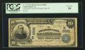 National Bank Notes:Pennsylvania, Pleasant Unity, PA - $10 1902 Date Back Fr. 616 The Pleasant Unity NB Ch. # (E) 6581. ...