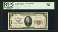 National Bank Notes:Wyoming, Laramie City, WY - $20 1929 Ty. 1 The Albany County NB Ch. # 3615....