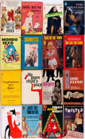 Books:Fiction, Group of Sixteen Human Sexuality Paperbacks. Various publishers,circa 1960s and 1970s. Various editions. Small octavos. Pub...(Total: 16 Items)