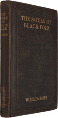 Books:Americana & American History, W. E. Burghardt Du Bois. The Souls of Black Folk. Chicago:1903. The rare first edition, first printing.. ...