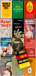 Books:Fiction, Group of Thirteen Human Sexuality Paperbacks. Various publishers,circa 1960s and 1970s. Various editions. Small octavos. Pu...(Total: 13 Items)