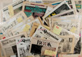 Books:Periodicals, Group of 41 Literary Reviews. Various publications. Many signed bycontributors. Most on newsprint. Some toning. Very good. ...