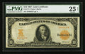 Large Size:Gold Certificates, Fr. 1171 $10 1907 Gold Certificate PMG Very Fine 25 Net.. ...