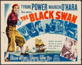 "Movie Posters:Adventure, The Black Swan & Others Lot (20th Century Fox, R-1952). HalfSheets (3) (22"" X 28"") Style A & Regular. Adventure.. ...(Total: 3 Items)"