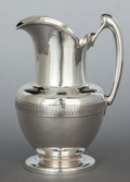 Silver Holloware, American:Pitchers, A TIFFANY & CO. SILVER WATER PITCHER . Tiffany & Co., NewYork, New York, circa 1865-1870. Marks: TIFFANY & CO., 1989,276...