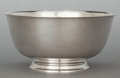 Silver Holloware, American:Bowls, A TIFFANY & CO. SILVER FOOTED BOWL . Tiffany & Co., NewYork, New York, second half 20th century. Marks: TIFFANY &CO., ST...