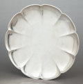 Silver Holloware, American:Plates, A TIFFANY & CO. SILVER LOBED FOOTED PLATE . Tiffany & Co.,New York, New York, Circa 1947-1956. Marks: TIFFANY & CO.,STER...